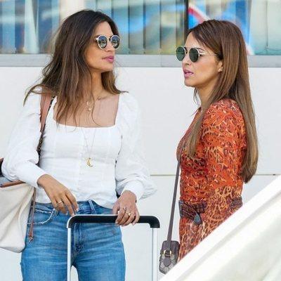 Paula Echevarría y Sara Carbonero en Ibiza