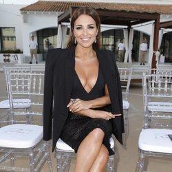 Paula Echevarría en el desfile de Calzedonia en Ibiza