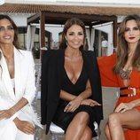 Sara Carbonero, Paula Echevarría y Ariadne Artiles en el desfile de Calzedonia en Ibiza