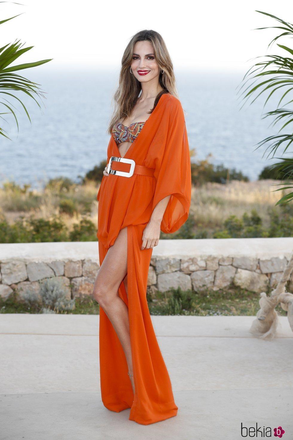 Ariadne Artiles en el desfile de Calzedonia en Ibiza