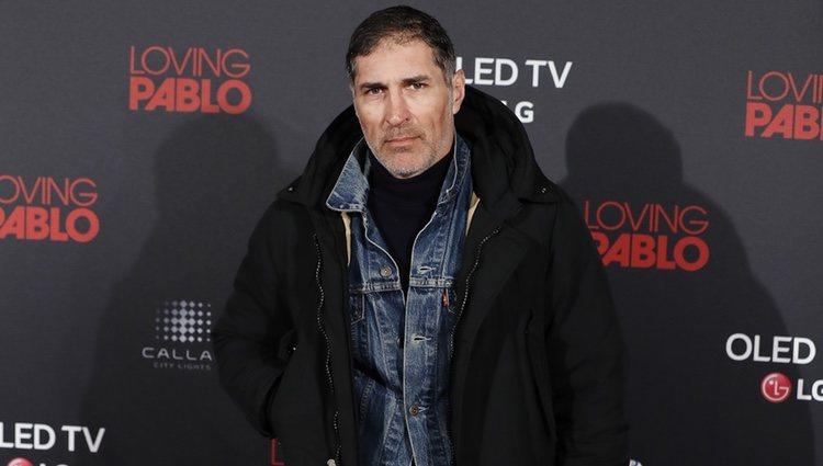 José Miguel Antúnez en la premier de 'Loving Pablo'