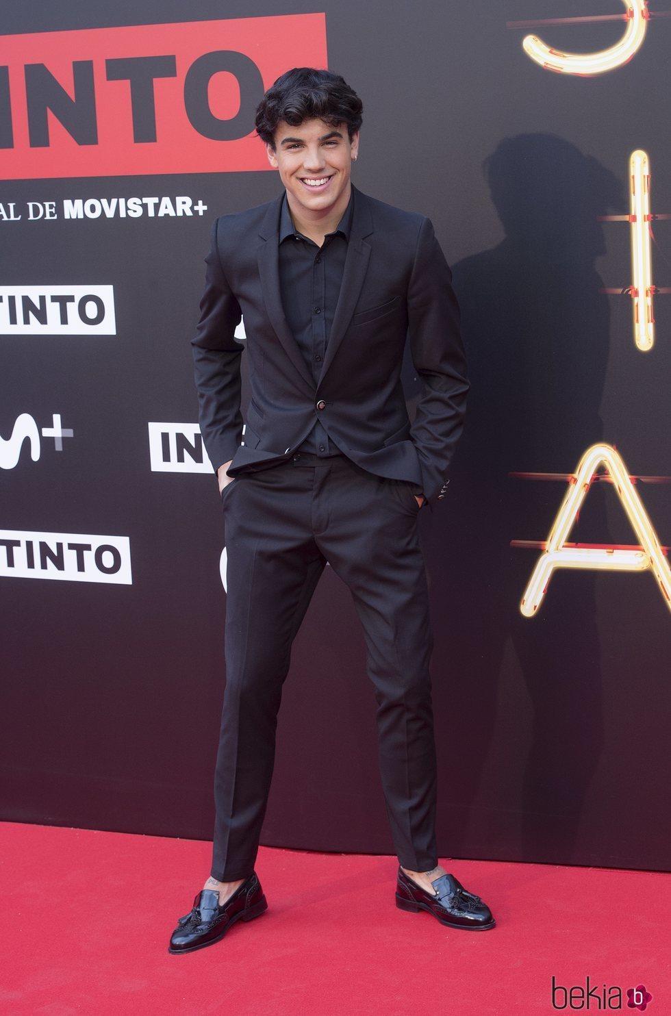 Oscar Casas en la premiere de la serie 'Instinto'