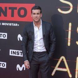 Mario Casas en la premiere de la serie 'Instinto'