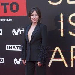 Lola Dueñas en la premiere de la serie 'Instinto'