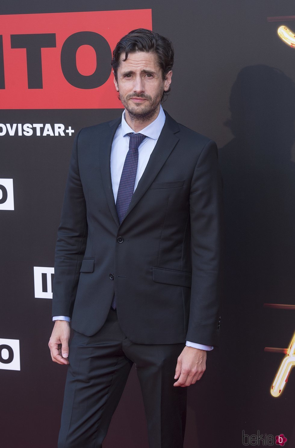 Juan Diego Botto en la premiere de la serie 'Instinto'