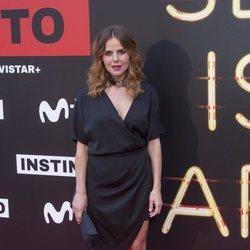 Myriam Gallego en la premiere de la serie 'Instinto'