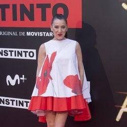 Mariola Fuentes en la premiere de la serie 'Instinto'