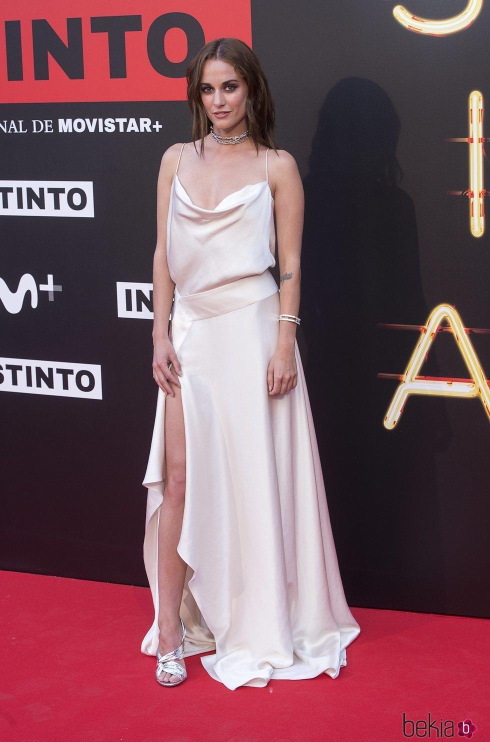 Silvia Alonso en la premiere de la serie 'Instinto'