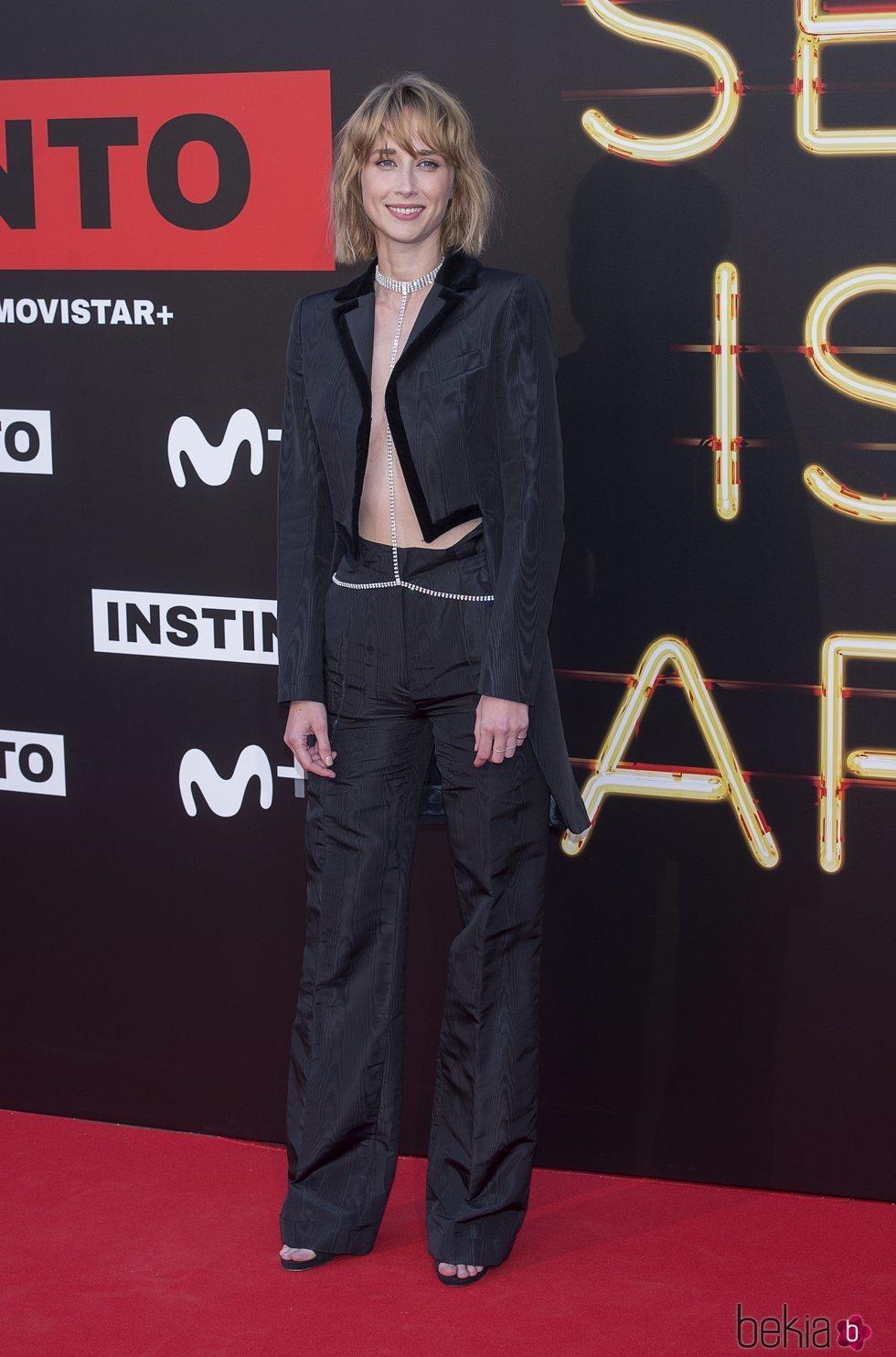 Ingrid García Jonsson en la premiere de la serie 'Instinto'
