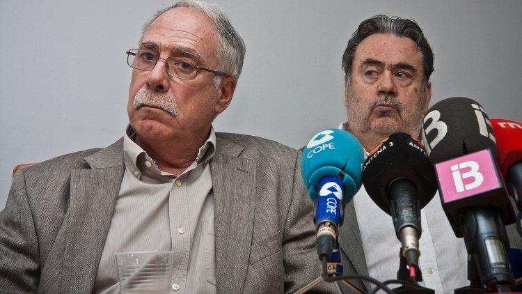 Camilo José Cela Conde da una rueda de prensa tras la resolución del Tribunal Supremo