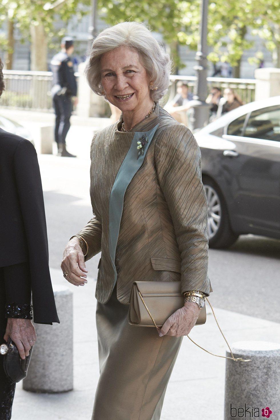La Reina Sofía en la reunión del Círculo Internacional de la Escuela Superior de Música Reina Sofía