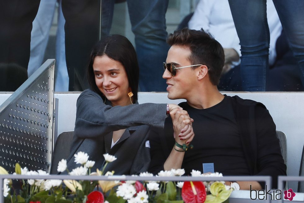 Victoria Federica y Gonzalo Caballero en Madrid Open 2019