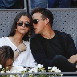 Victoria Federica y Gonzalo Caballero en Master de tenis 2019