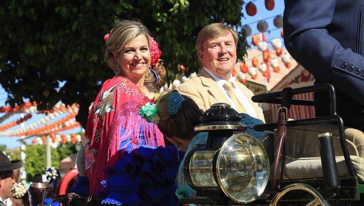 Los Reyes Máxima y Guillermo Alejandro de Holanda en la Feria de Abril 2019