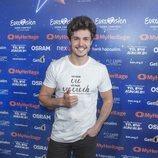 Rueda de prensa de Miki Núñez tras el primero ensayo de Eurovisión 2019
