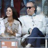 Victoria Federica y Jaime de Marichalar en la final del Mutua Madrid Open 2019