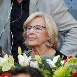 Manuela Carmena en el Madrid Open 2019
