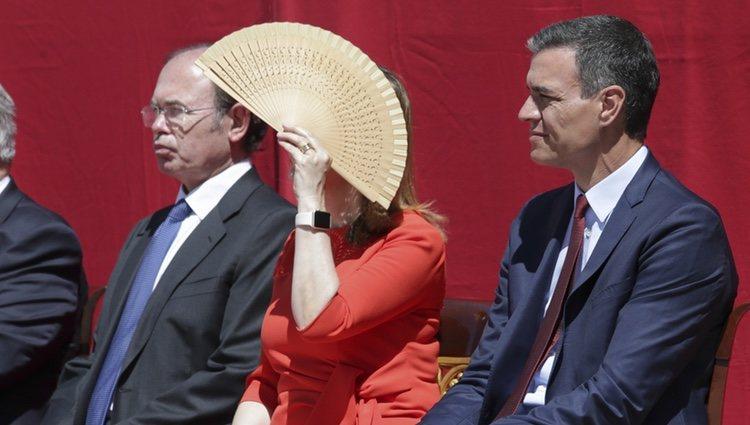 Pedro Sánchez y Ana Pastor en el 175 aniversario de la Guardia Civil