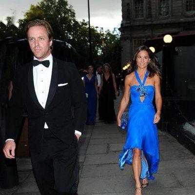 Pippa Middleton y Tom Kingston en Londres
