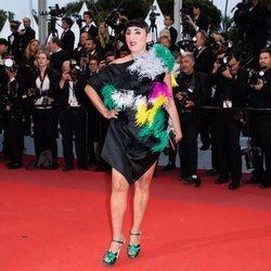 Rossy de Palma en la presentación de 'Dolor y Gloria' en el Festival de Cannes