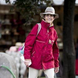 La Infanta Elena en el Concurso de Saltos de Madrid de 2019