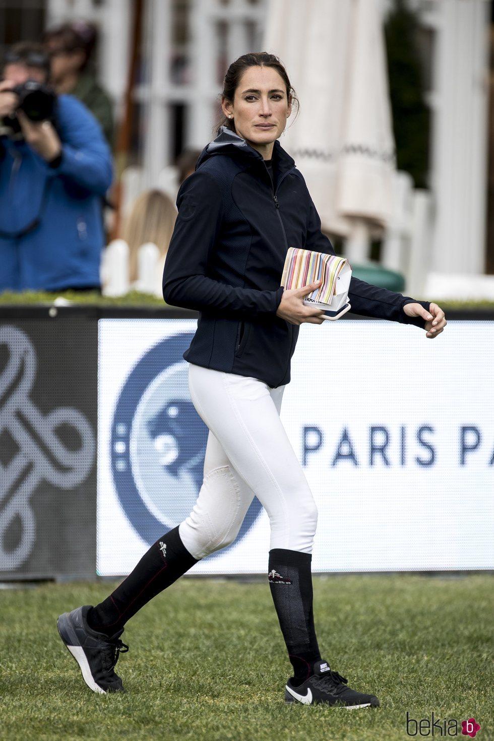 Jessica Springsteen en el Concurso de Saltos de Madrid de 2019