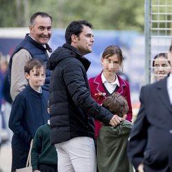 Sergio Álvarez Moya en el Concurso de Saltos de Madrid de 2019