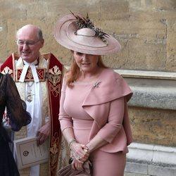 Sarah Ferguson en la boda de Lady Gabriella Windsor y Thomas Kingston