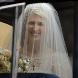 Lady Gabriella Windsor en su boda con Thomas Kingston