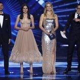 Bar Refaeli y el resto de presentadores del Festival Eurovisión 2019