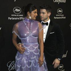 Nick Jonas y Priyanka Chopra en la Fiesta de Chopard durante el Festival de Cannes 2019
