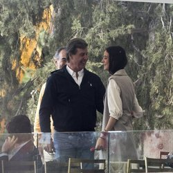 Victoria de Marichalar con Cayetano Martínez de Irujo en el CSI Longines de Madrid 2019