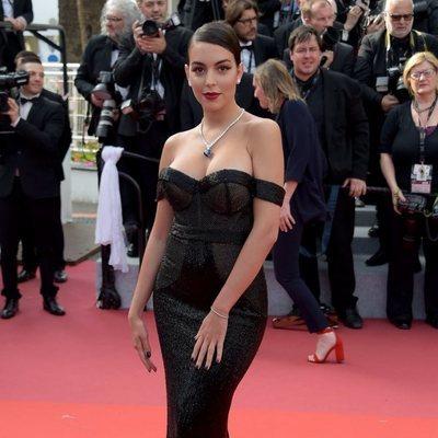 Georgina Rodríguez, como una estrella de Hollywood en el Festival de Cannes