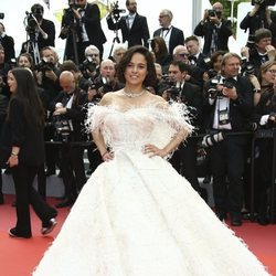 Michelle Rodriguez en la premiere de 'Once Upon a Time in Hollywood' en Cannes 2019