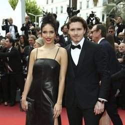 Brooklyn Beckham y Hanna Cross en el Festival de Cannes 2019