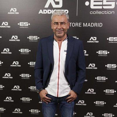 Jorge Javier Vázquez en la apertura de una nueva tienda en Madrid