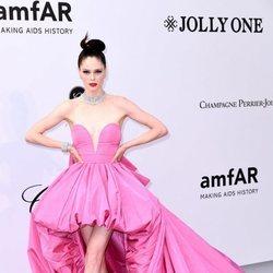 Coco Rocha en la gala amfAR en el Festival de Cannes 2019