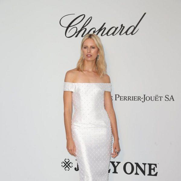 Alfombra roja de la gala amfAR en el Festival de Cannes 2019