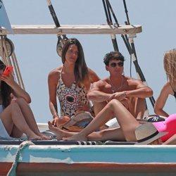 Laura Matamoros con Daniel Illescas en Ibiza