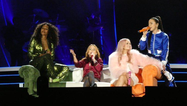 Las Spice Girls en el primer concierto de la gira Spice World Tour 2019