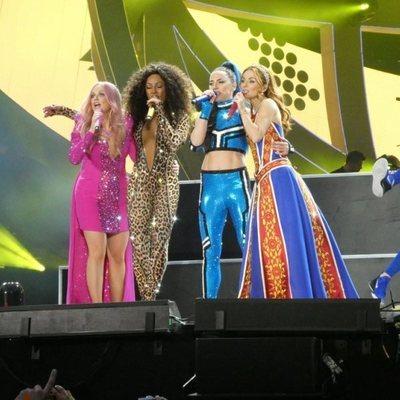 Las Spice Girls en el primer concierto de su gira Spice World Tour 2019