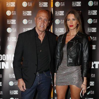 Kiko Matamoros y su novia Marta López asistiendo a un concierto