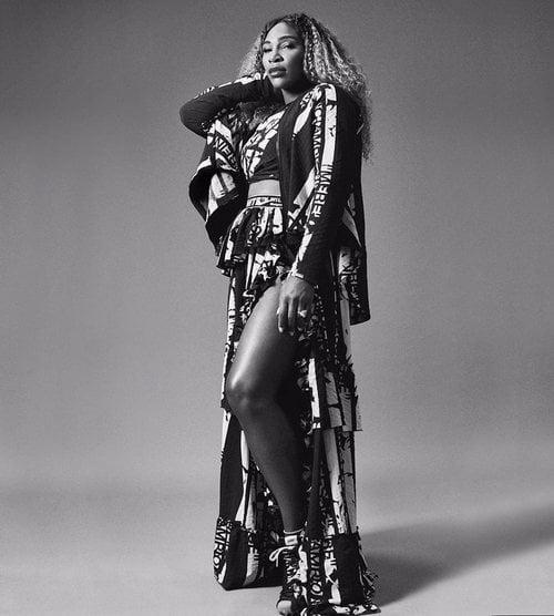 La tenista Serena Williams ha colaborado como imagen para Off White y Nike