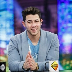 Nick Jonas durante su visita a 'El Hormiguero' tras unirse de nuevo la banda