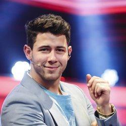 Nick Jonas durante su paso por 'El Hormiguero' tras la vuelta de los Jonas Brothers