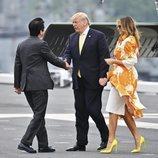 Donald y Melania Trump abandonan Japón tras su visita de Estado