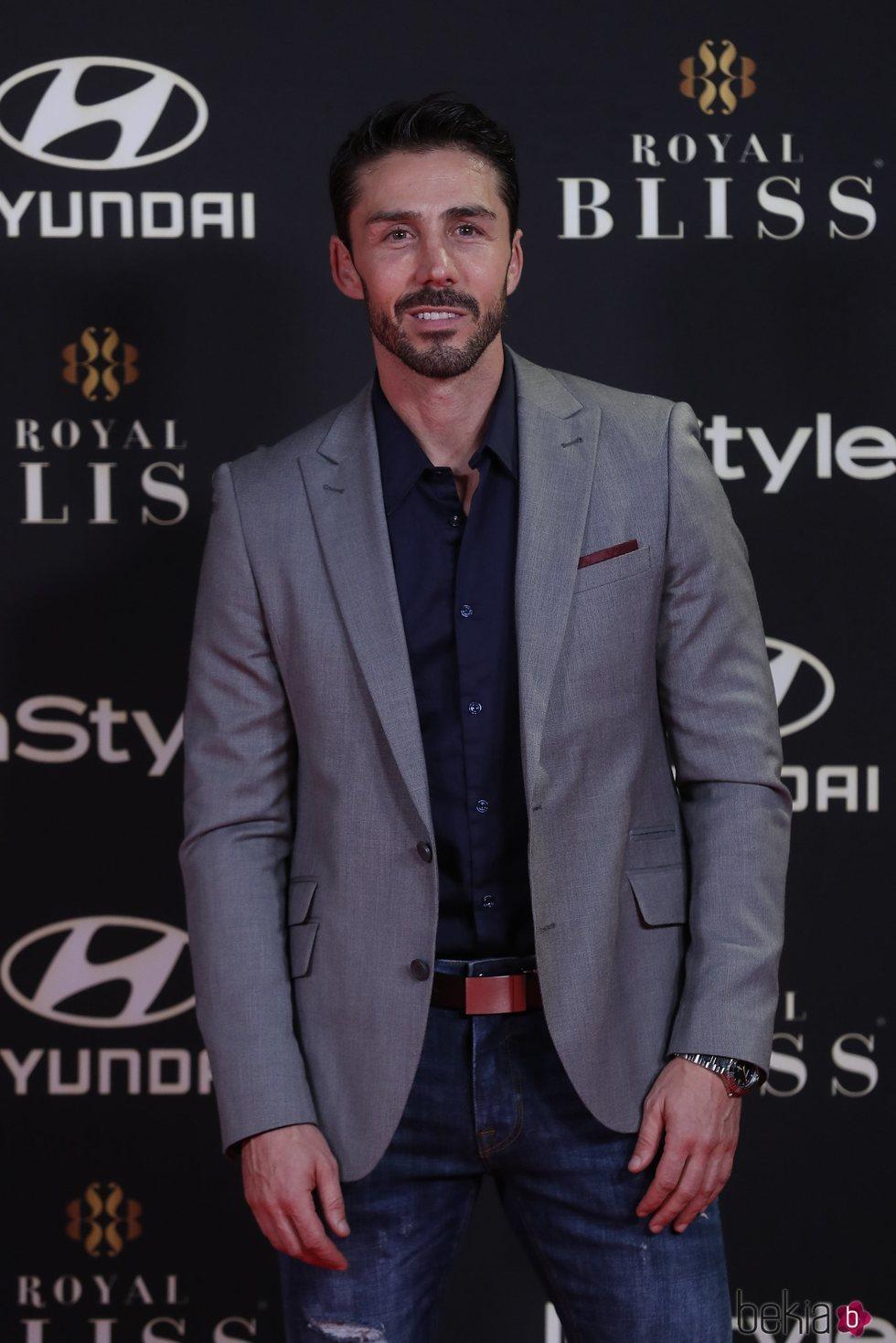 Ruben Sanz en los Premios Instyle 2019