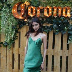Lucía Rivera en la inauguración de 'Casa Corona'