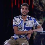 Jonathan Piqueras durante su entrevista en 'Supervivientes 2019'