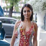 Hiba Abouk llegando a la Gala Solidaria contra el Cáncer de Elle